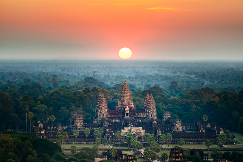 7 international honeymoon destinations - Cambodia