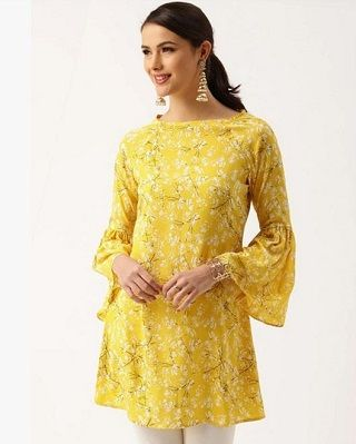1 kurtis to wear with jeans