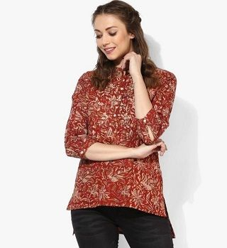 12 kurtis to wear with jeans