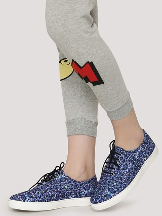 12 printed sneakers for college girls