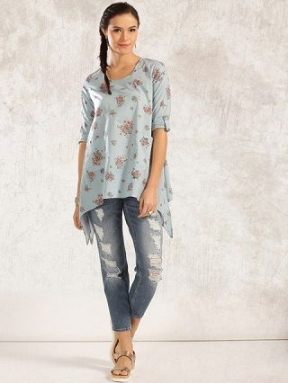 4 kurtis to wear with jeans
