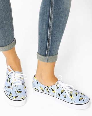 6 printed sneakers for college girls