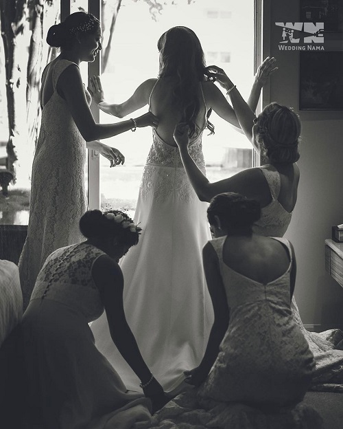 7 bride and bestie pictures