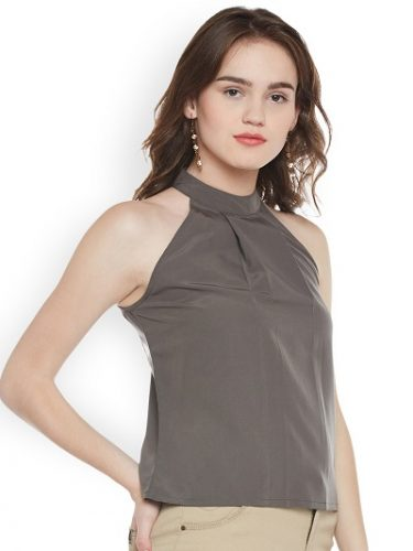 halter-neck-top-tops -to-make-you-look-slimmer
