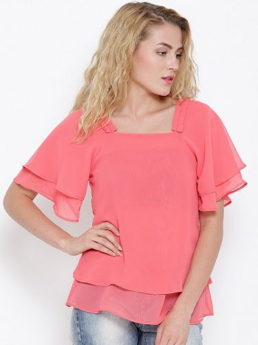 peppy pink-tops -to-make-you-look-slimmer