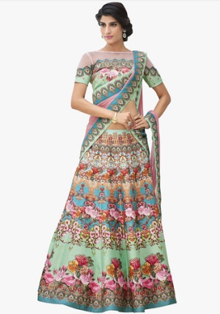 1 lehengas for your mehendi ceremony