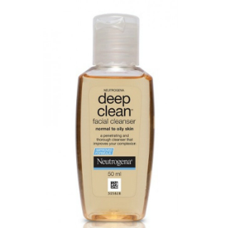 11 skincare products for the new bride - Neutrogena Deep Clean Facial Cleanser