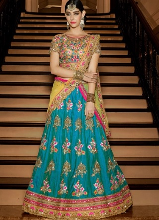 13 lehengas for your mehendi ceremony