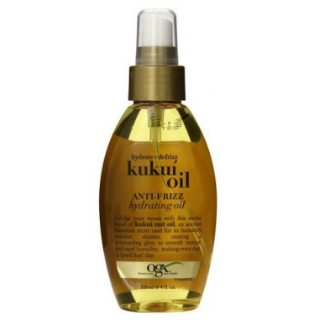 13 products for thick hair - Organix Anti-Frizz Hydrating Kukui Oil