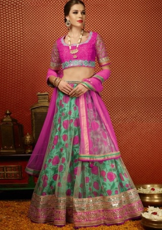 14 lehengas for your mehendi ceremony