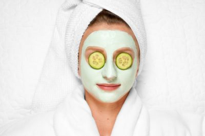 14. Cucumber Face Pack homemade face pack face mask (5)