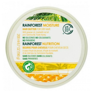 15 products for thick hair - The Body Shop Rainforest Moisture Hair Butter