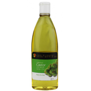 15 skincare products for the new bride - Soulflower Castor Carrier Oil - Coldpressed