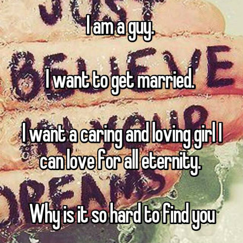 3 guys confess why they want to get married