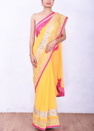 4 sarees for the new bride