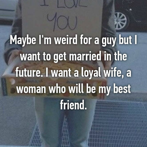 7 guys confess why they want to get married