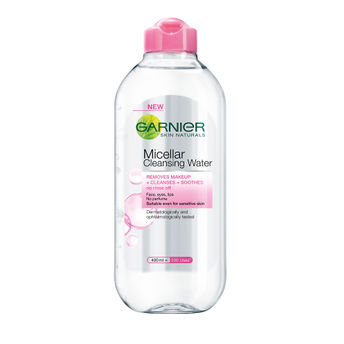 Garnier Micellar Cleansing Water-best-summer-skincare-products-india-face-wash-face-packs-more