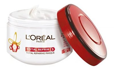 hair-masks-for-dry-and-damaged-hair-L'Oreal Paris Hair Total Repair 5 Masque