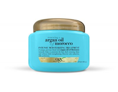 hair-masks-for-dry-and-damaged-hair-OGX Moroccan Argan Oil Treatment
