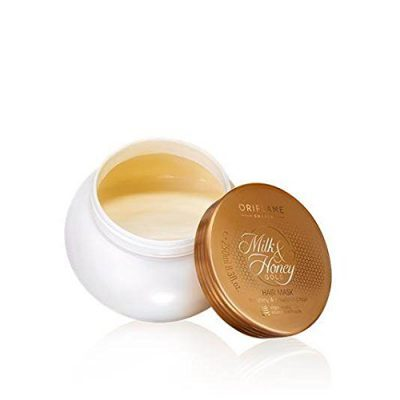 hair-masks-for-dry-and-damaged-hair-Oriflame Milk and Honey Gold Hair Mask