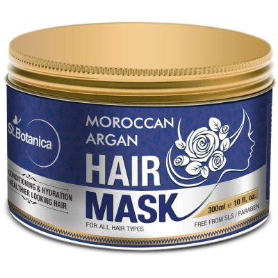 hair-masks-for-dry-and-damaged-hair-StBotanica Moroccan Argan Hair Mask