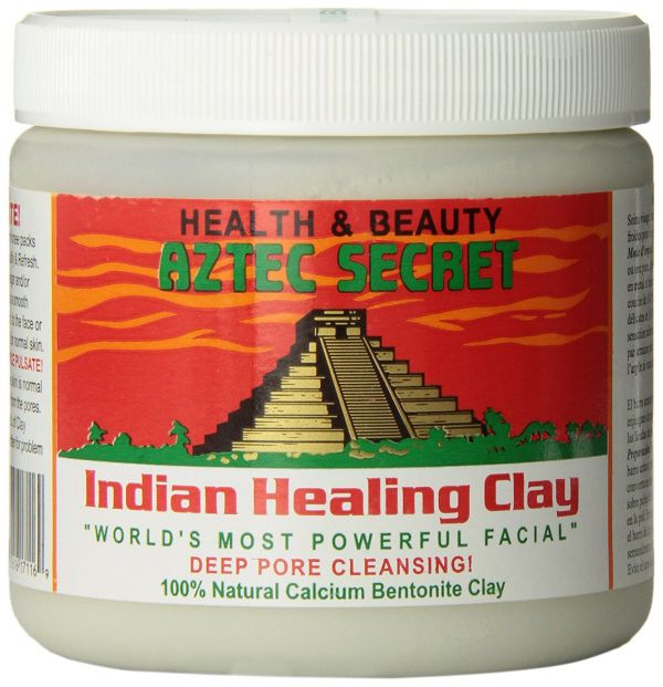 aztec indian healing clay mask