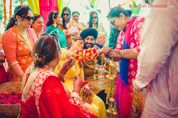 real wedding in goa chooda ceremony