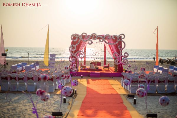real wedding in goa mandap planet hollywood