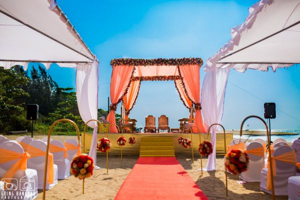 11 quirky beach wedding