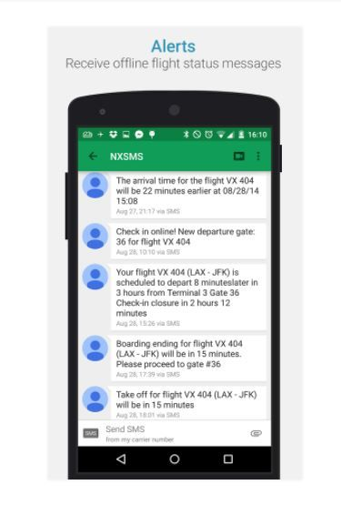 3 travel apps - app in the air