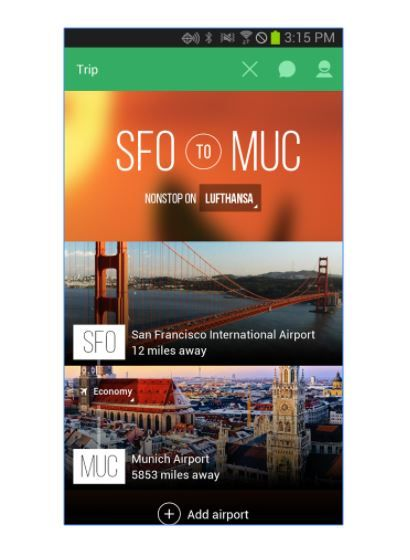 4 travel apps - lounge buddy