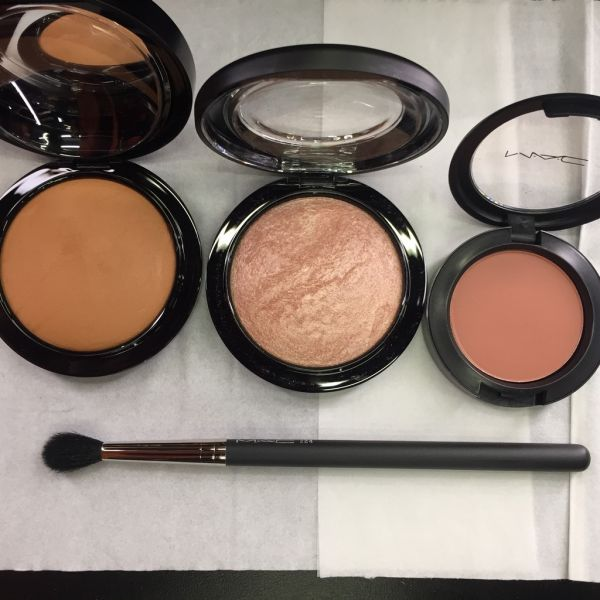 3 festive makeover from MAC