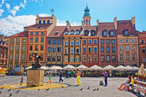 4 affordable european cities - warsaw - poland