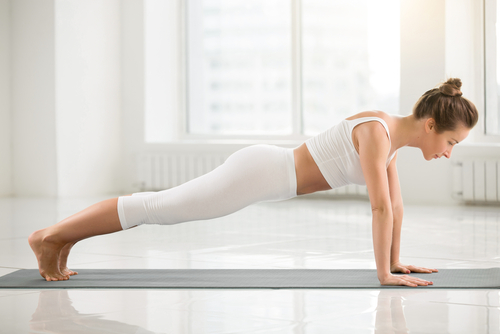 2 yoga for beginners - plank pose