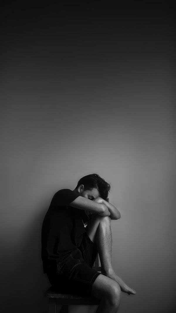 Image 4 someone who is depressed