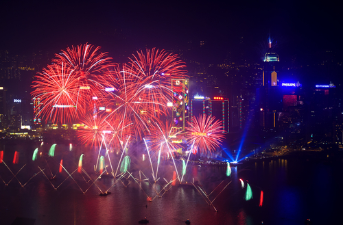 5 new year places