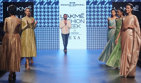 11 Designer Hemang Agrawal presented his Un-Revive collection at Lakme Fashion Week Summer Resort 2018