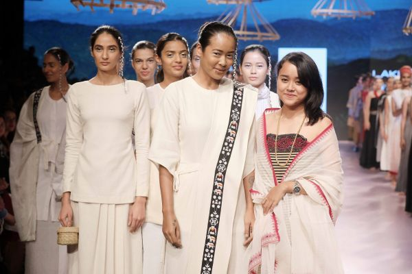 4 Richana Khumantem presented her collection at Lakme Fashion Week Summer Resort 2018
