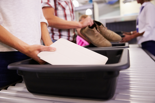 1 airport - security check