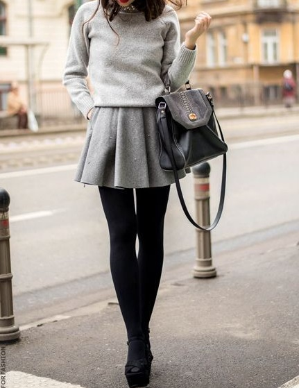 2 period - leggings with skirt