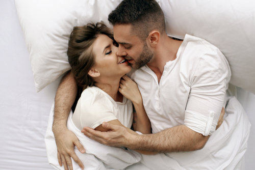 internal sex healthy couple