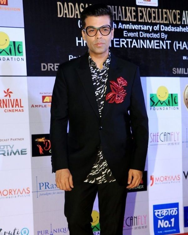 karan johan in manish malhotra dadasaheb phalke excellence awards 2018