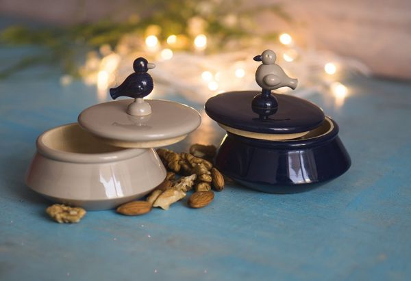 nuture india blue bird bowls for storage