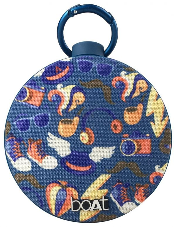 boat portable speakers jazzy blue