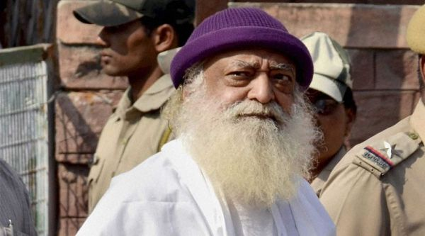 asaram walking to the jail  rape  godman  godmen