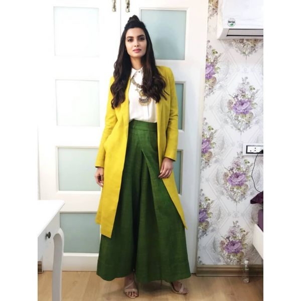 1. Diana penty - payal khandwala yellow and green