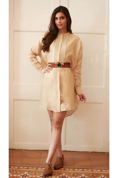 3. Diana penty shirt dress