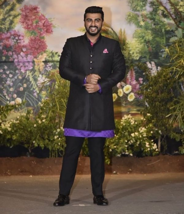7 sonam kapoor wedding - arjun kapoor reception