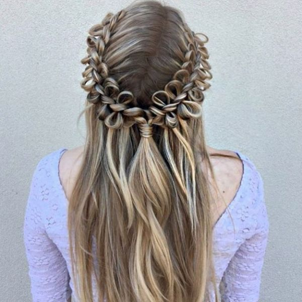 types of braids bow