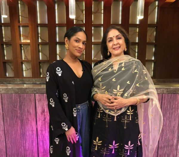 Neena gupta with masaba